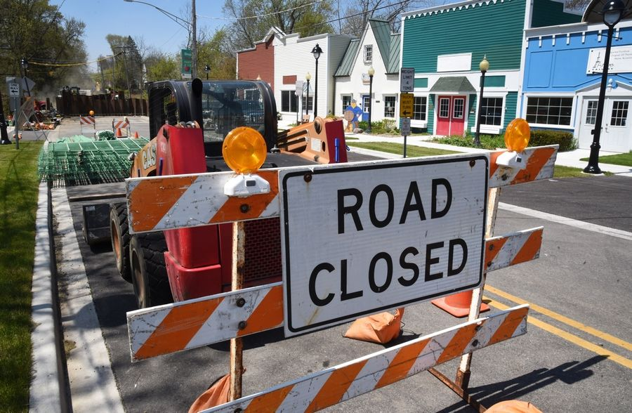 Long Grove's historic bridge has been closed in recent months for renovation work.