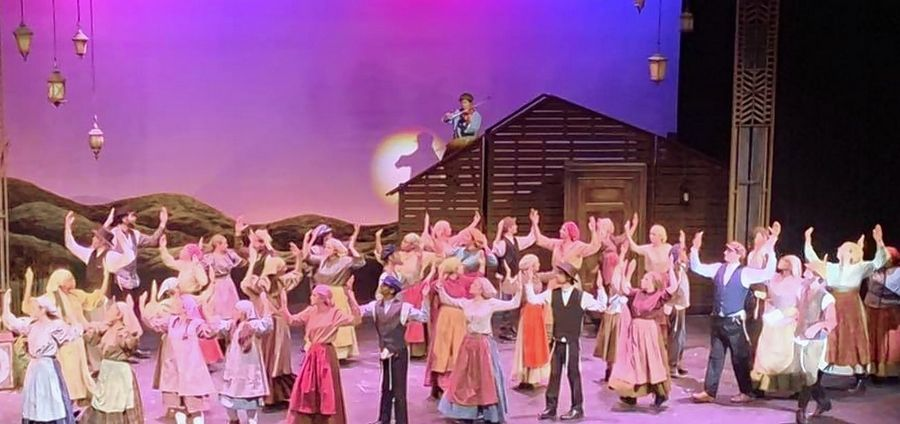 "Hinsdale South Drama Club put on ""Fiddler on the Roof"" for the fall musical."