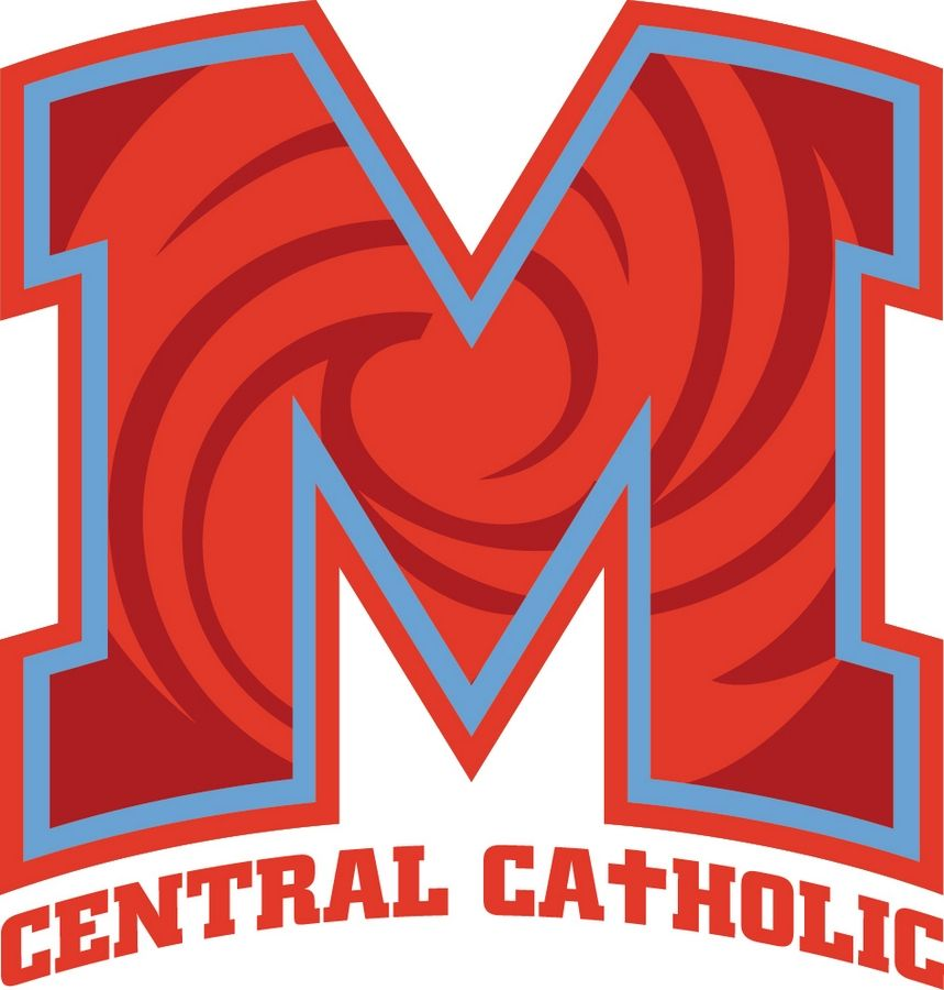 Logo for Marian Central Catholic High School in Woodstock.