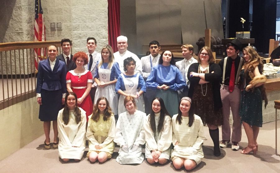 Marian Central Catholic theater students.