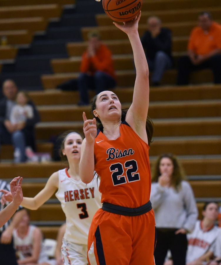 Buffalo Grove's Kendra Lee (22) was the MSL All-conference and MSL East Player of the Year for girls basketball.