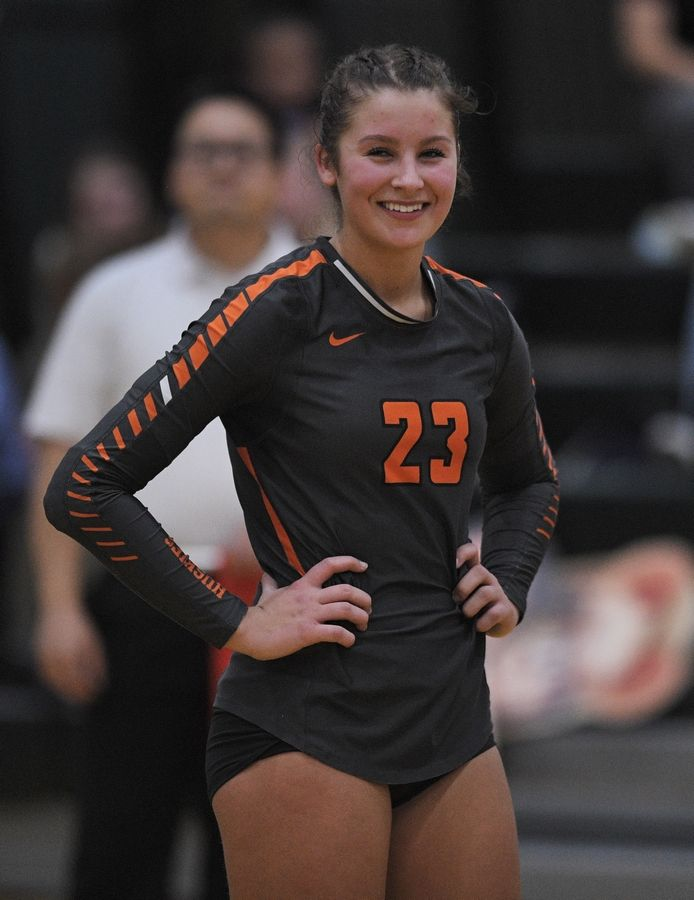 Hersey's Kati Kaburov, Daily Herald Cook County all-area volleyball captain.