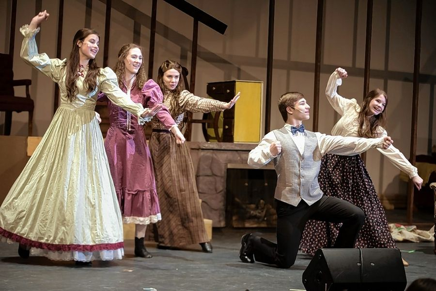 "Jacobs High School in Algonquin presented a musical version of Louisa May Alcott's ""Little Women"" in Feburary at the Algonquin school."
