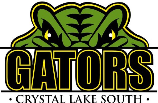 Crystal Lake South logo.