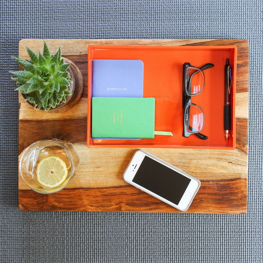A solution to home office clutter from Bneato Bar, a team of professional organizers.