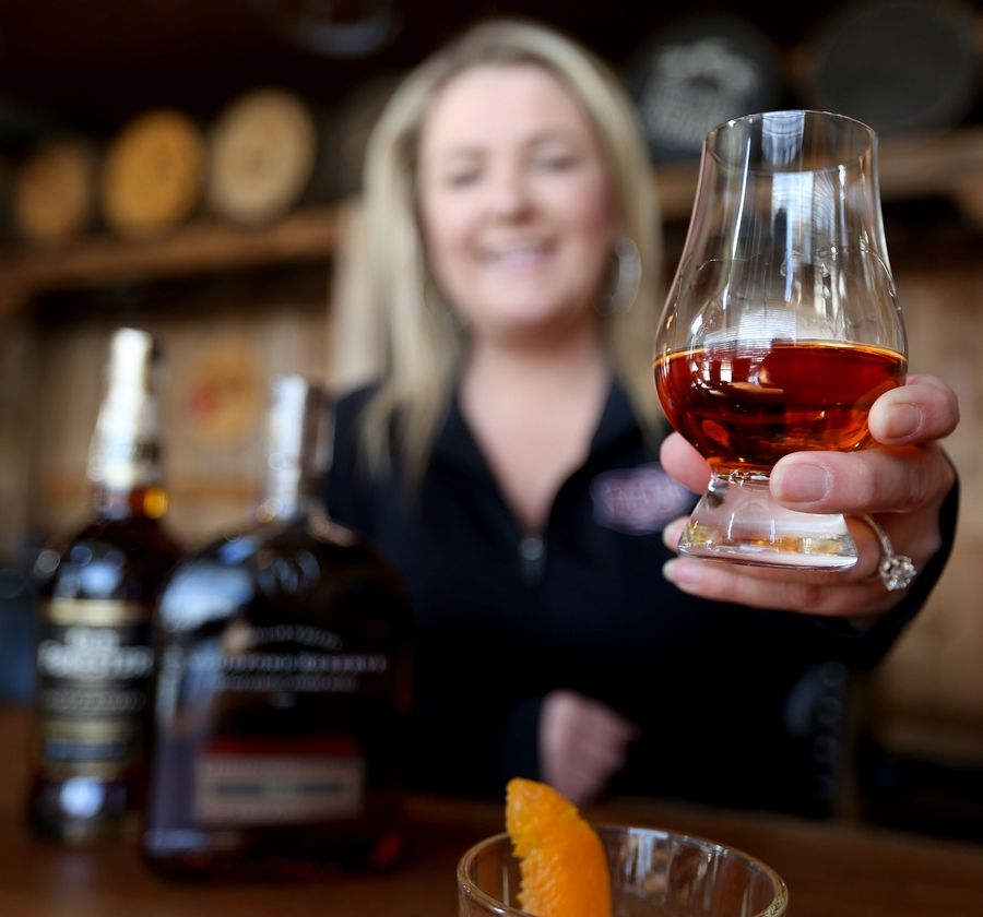 Ashley Klatecki is the owner at Spears Bourbon, Burgers and Brew in Wheeling. Klatecki has discussed the popularity of bourbon among women.