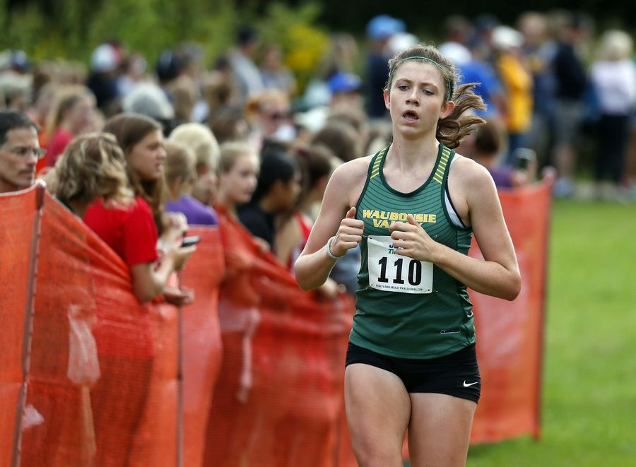 Ashley Heidenrich graduated from Waubonsie Valley High School this spring without getting the chance for a return to the state track meet.