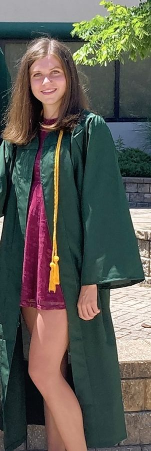 Ashley Heidenrich graduated from Waubonsie Valley High School in Aurora, but during the pandemic, she missed a chance at the state track meet, celebrating graduation milestones with longtime friends and saying thank you to teachers.