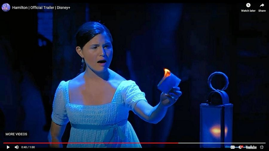 "Libertyville native Phillipa Soo starred as Eliza Hamilton in the original Broadway cast of ""Hamilton,"" which starts streaming Friday, July 3, on Disney+."