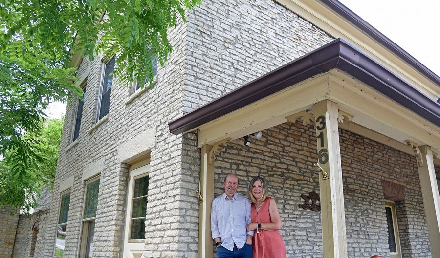 Karen and Lance Ramella have purchased a historic St. Charles house at 316 Cedar St., where they plan to build an addition for a new event venue, Cedar Fox Weddings & Events.