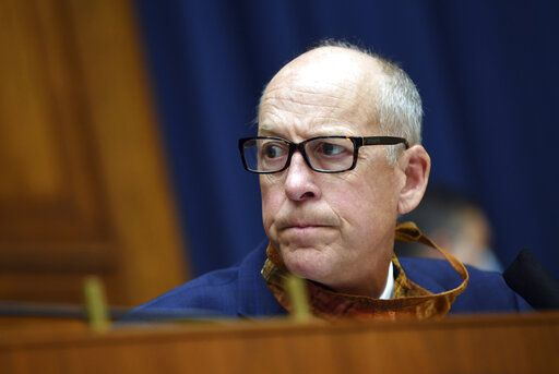 Rep. Greg Walden, R-Ore., asks a question during a House Committee on Energy and Commerce on the Trump administration's response to the COVID-19 pandemic on Capitol Hill in Washington on Tuesday, June 23, 2020. (Kevin Dietsch/Pool via AP)