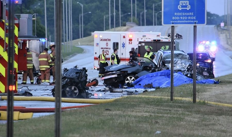 Wheeling police say they are seeking the public's help in their investigation of a three-vehicle crash that killed two drivers Tuesday night near Lake-Cook Road and Northgate Parkway.
