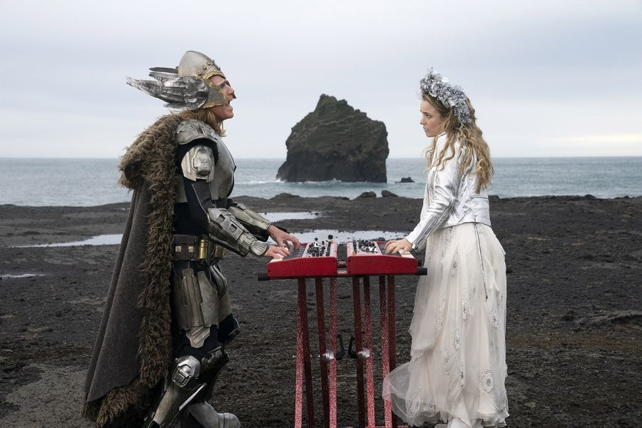 "Two friends (Will Ferrell, left, and Rachel McAdams) from Iceland compete in Europe's long-running musical competition in the Netflix spoof ""Eurovision Song Contest: The Story of Fire Saga."""