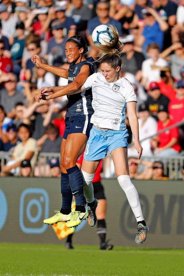 The Red Stars' Morgan Brian right and her teammates open the NWSL season Saturday in Utah.