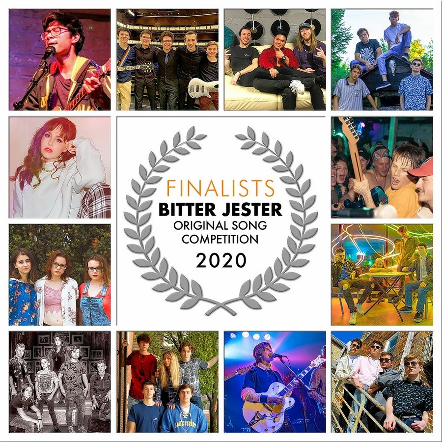 Listen to the 12 finalists and vote on the Fan Favorite in the Bitter Jester Original Song Competition finals this week.
