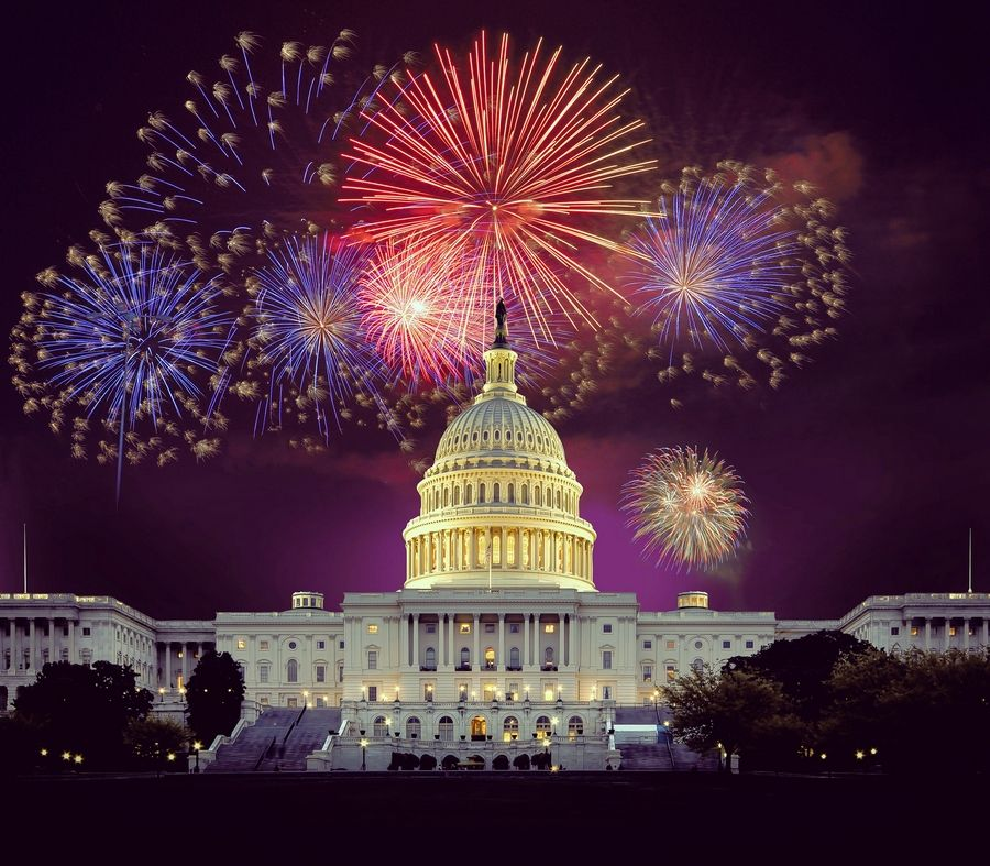 "Television will mark the Fourth of July with appropriately themed programming Saturday, July 4, including ""A Capitol Fourth"" on PBS."