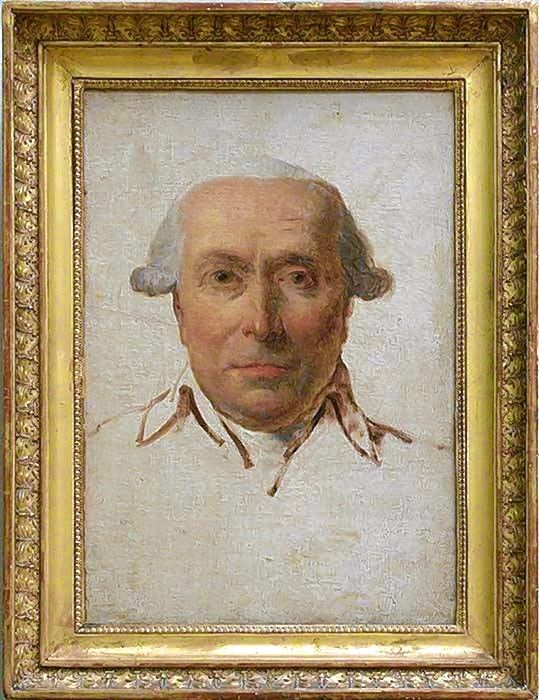 This portrait of patriot Philip Mazzei was painted by Jacques-Louis David in 1790.