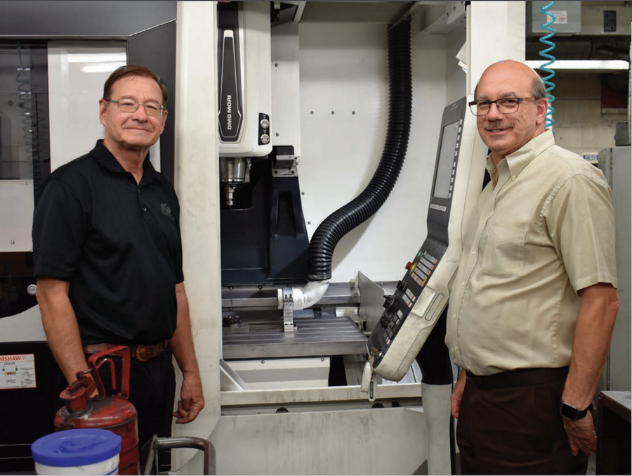 Scott and Jim Fromm from F & S Engraving, Inc.Technology & Manufacturing Association