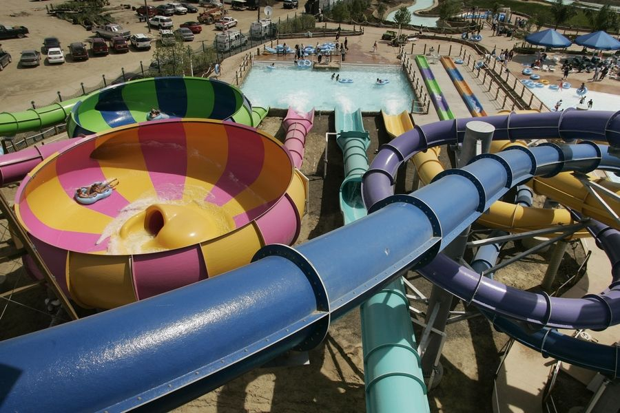 Hurricane Harbor Water Park at Six Flags Great America in Gurnee is set to reopen this summer.