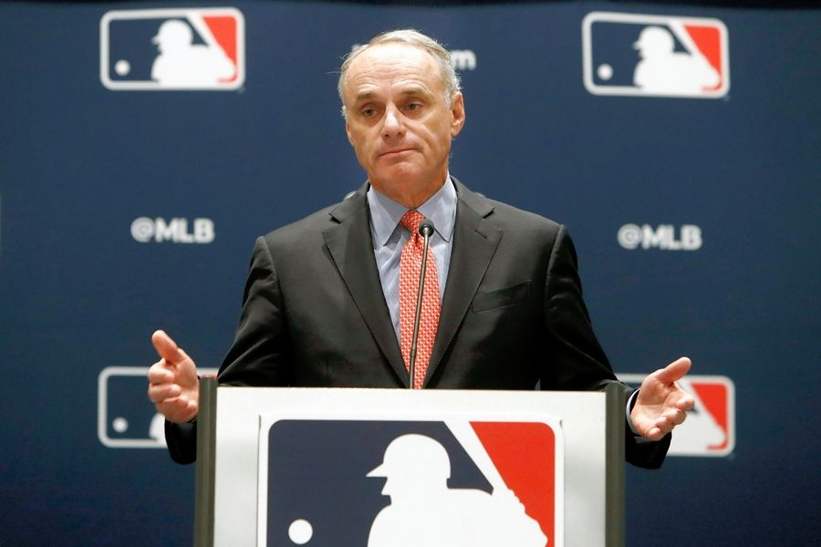 Baseball Commissioner Rob Manfred.