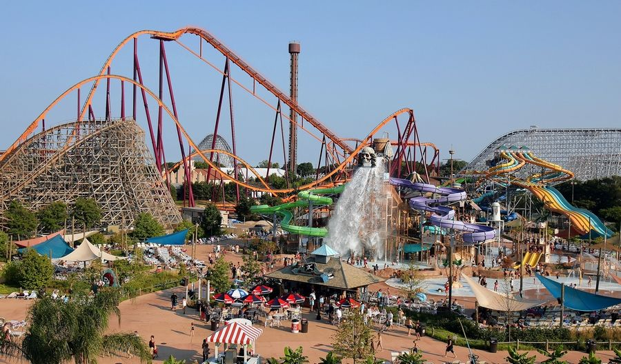 Hurricane Harbor at Six Flags Great America in Gurnee opens for an abbreviated summer season July 20 for park members and season pass holders.