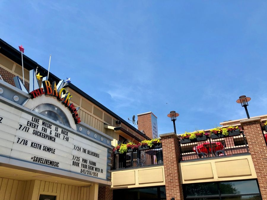 Palatine village council members have approved a proposal for live acoustic music on Durty Nellie's rooftop deck downtown. Durty Nellie's has scheduled the duo Sucker Punch for the rooftop Friday.