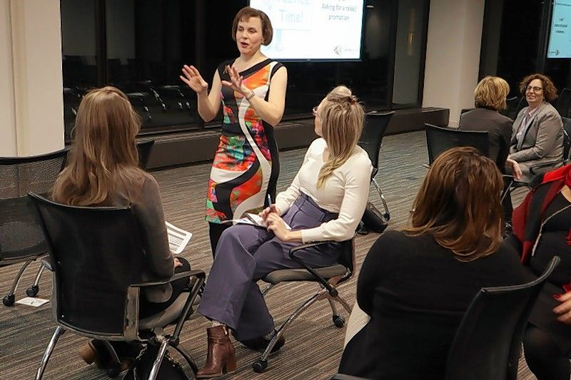 Alison Henderson, owner of Moving Image Consulting in Downers Grove, says the need to interpret nonverbal language among co-workers and clients is even greater in the world of video conferencing and meeting with masks.