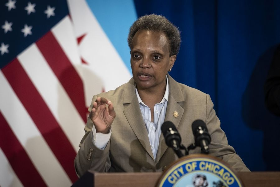 Chicago Mayor Lori Lightfoot says the city will cooperate with federal agents but promised to fight to prohibit heavy-handed operations like those used in Portland, Oregon.