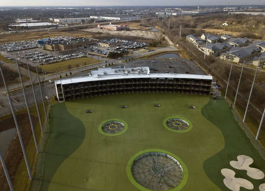 Top Golf in northwest Naperville will be part of a $200 million mixed-use center that will include residential, office, retail, commercial, hospitality, entertainment and recreation components.