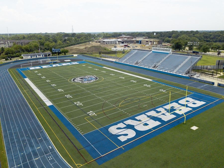 Lake Zurich High School's football stadium will remain empty this fall.