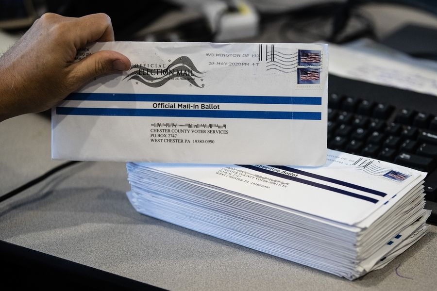 Mail-in ballots have sparked a Twitter storm from President Donald Trump, who speculated whether the Nov. 3 election should be delayed, an idea both Democrats and Republicans in Illinois say won't happen.