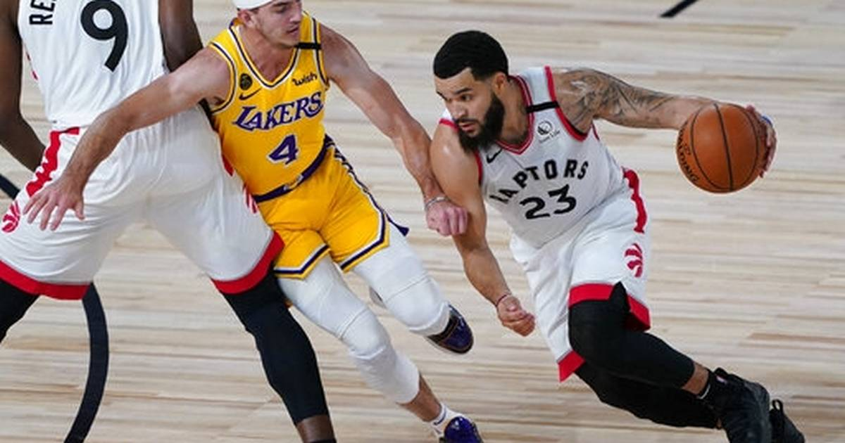 Lowry scores 33 to lead Raptors to 11th straight over Lakers