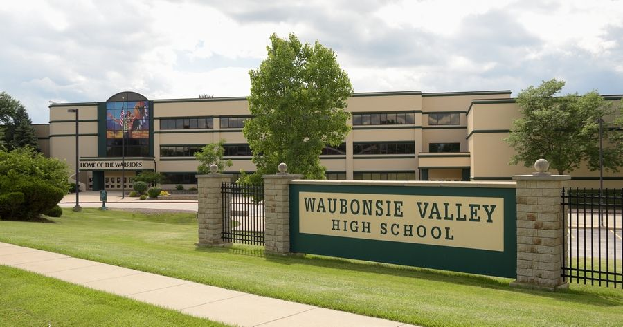 Students at Waubonsie Valley High School in Aurora will start classes remotely.