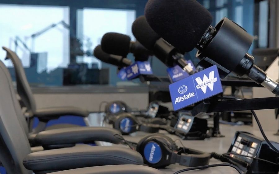 Anchors and correspondents from competing networks may no longer be welcome as guests on WGN 720-AM, the company's news/talk station.