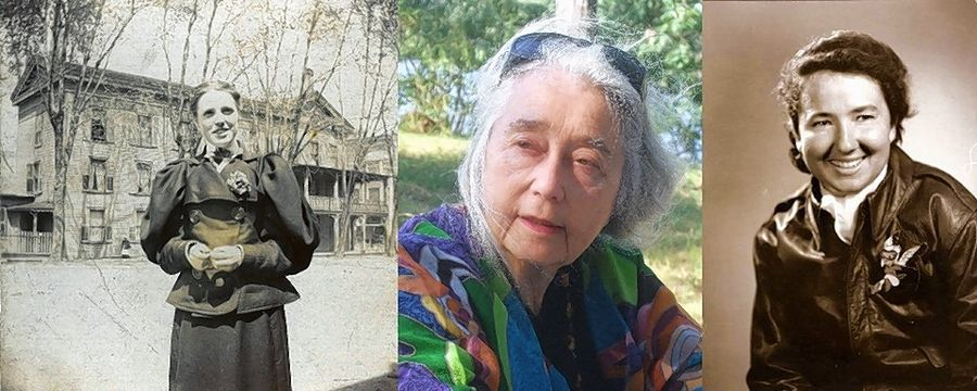 "On Wednesday, Aug. 26, learn about Bess Bower Dunn, left, Lake County's first designated historian; Ethel Untermyer, founder of the Lake County Forest Preserves; Janice Christensen, a test pilot in World War II; and others in ""Women Who Made History."""