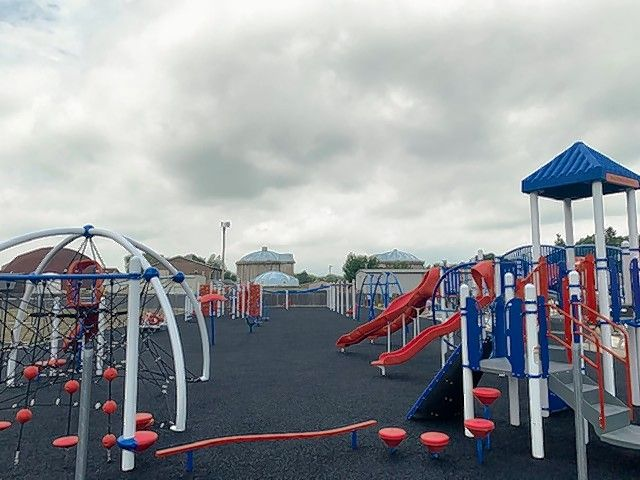 A new playground was built at Wauconda Grade School this summer. About $554,000 was included in the 2021 fiscal year's budget for the project, officials said.
