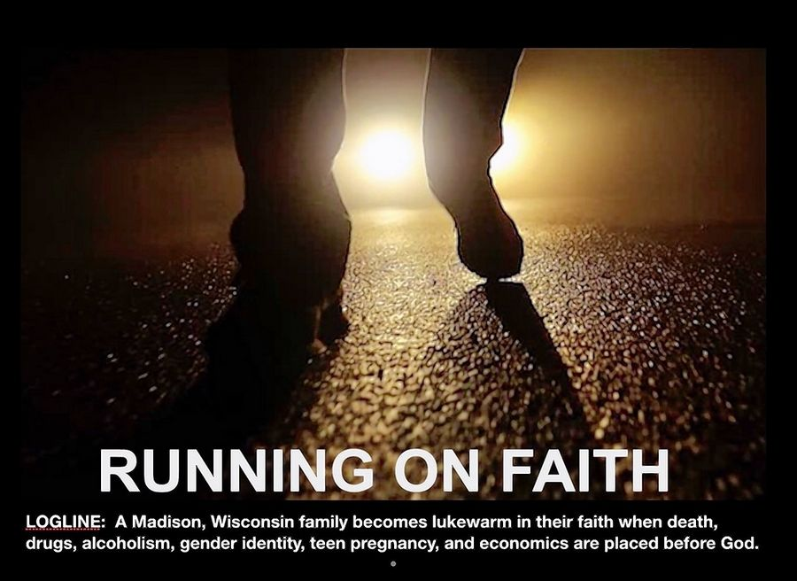 "The film ""Running on Faith"" has received the Best Feature award from the Tylerman Film Festival and is set to be shown during the event this Saturday and Sunday at Cantigny Park in Wheaton."