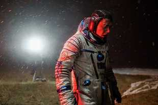 "Cosmonauts experience strange symptoms after returning from space in the sci-fi/horror film ""Sputnik."""