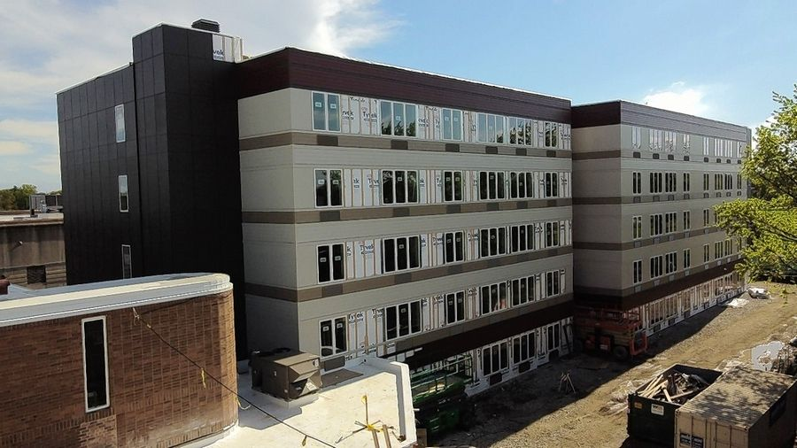 New Apartments Nearly Complete For Low Income Seniors In Naperville