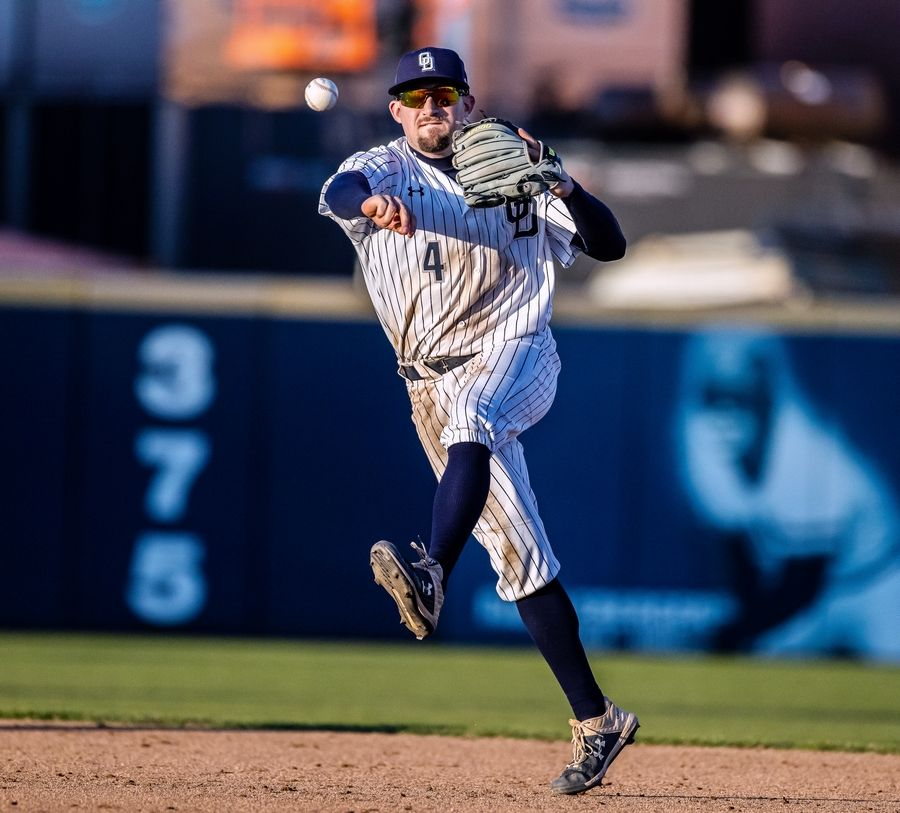 Former Old Dominion University and Warren Township High School baseball player Matt Burch has signed with the Cubs.