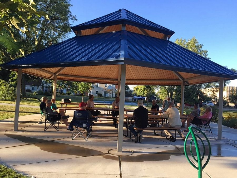 The TriCities Exchange Club recently met at Fairview Park in St. Charles for a meeting.