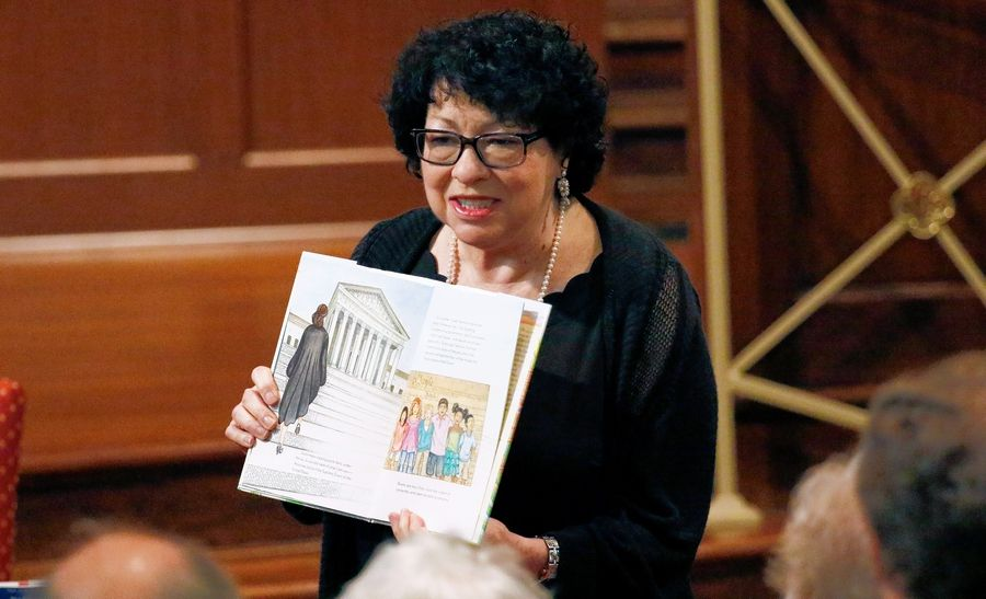 "U.S. Supreme Court Justice Sonia Sotomayor speaks about her children's book, ""Turning Pages: My Life Story,"" at last year's Mississippi Book Festival in Jackson, Miss. ""Turning Pages"" is one of the selections on this year's Suburban Mosaic Book of the Year reading list."