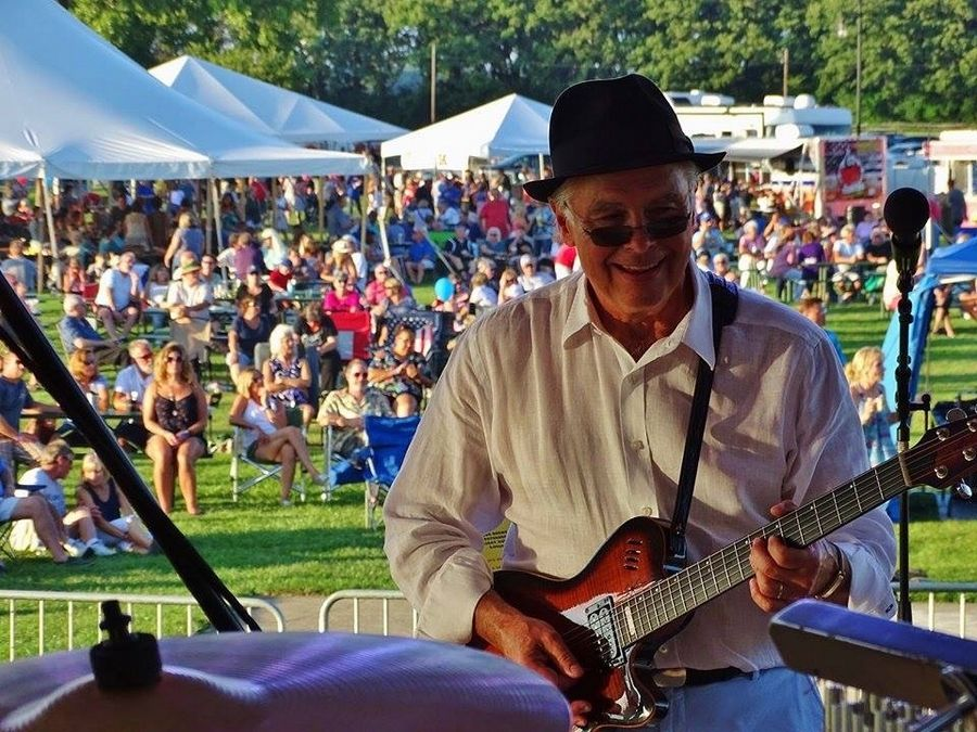 John Todd performs at a past Blues, Brews & BBQ event in McHenry. Todd and his band will kick off a livestream at 6 p.m. Saturday, Aug. 29. Catch the stream at mrbbb.com or on the Blues, Brews & BBQ or McHenry Area Rotary Facebook page.