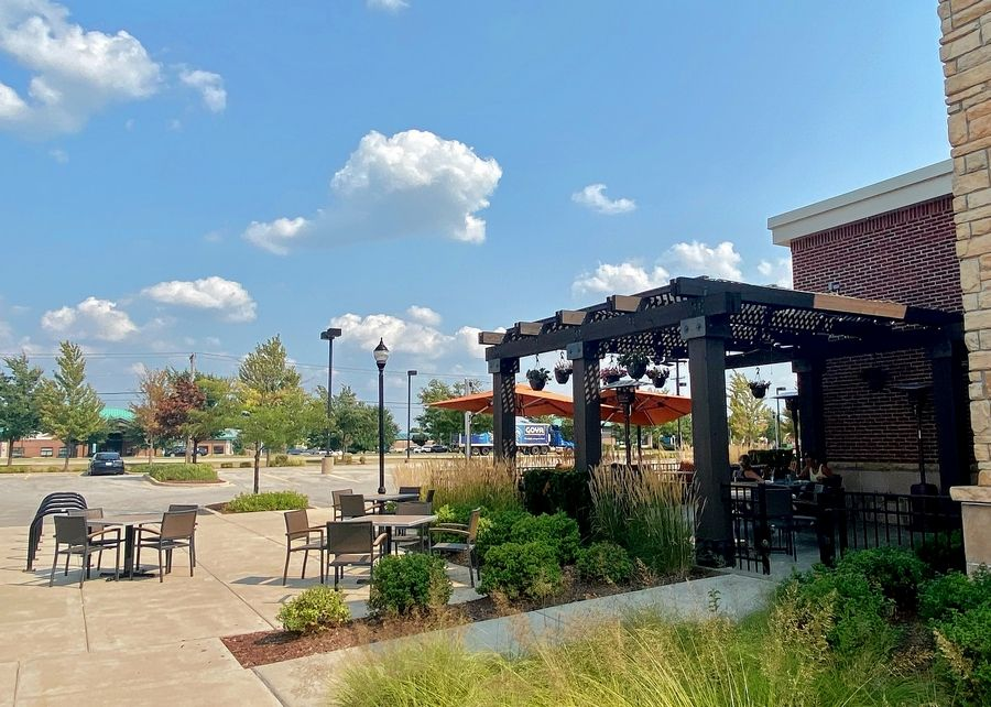 Biaggi's Ristorante Italiano in Naperville has added outdoor dining furniture along its sidewalks in response to a new set of COVID-19 restrictions banning indoor service in Will and Kankakee counties.