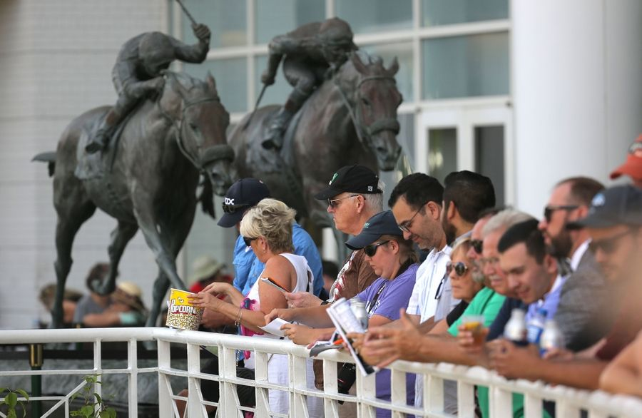 Up to 300 fans per day will be allowed at Arlington International Racecourse beginning Thursday, Sept. 3, under a reopening plan approved Thursday by state and local regulators.
