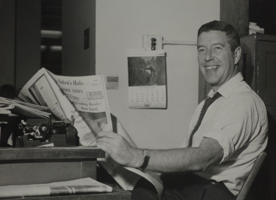 A legendary newspaper columnist, Jack Mabley was a star at the Chicago Daily News. He also told stories about being the only sober person in the newsroom by late afternoon.