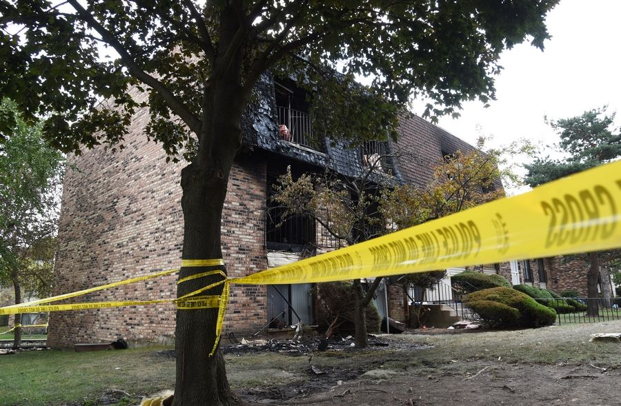 Police saved a 6-year-old from an Aug. 24 fire at a Glendale Heights condo complex. An adult and another child were found dead after the blaze was extinguished.