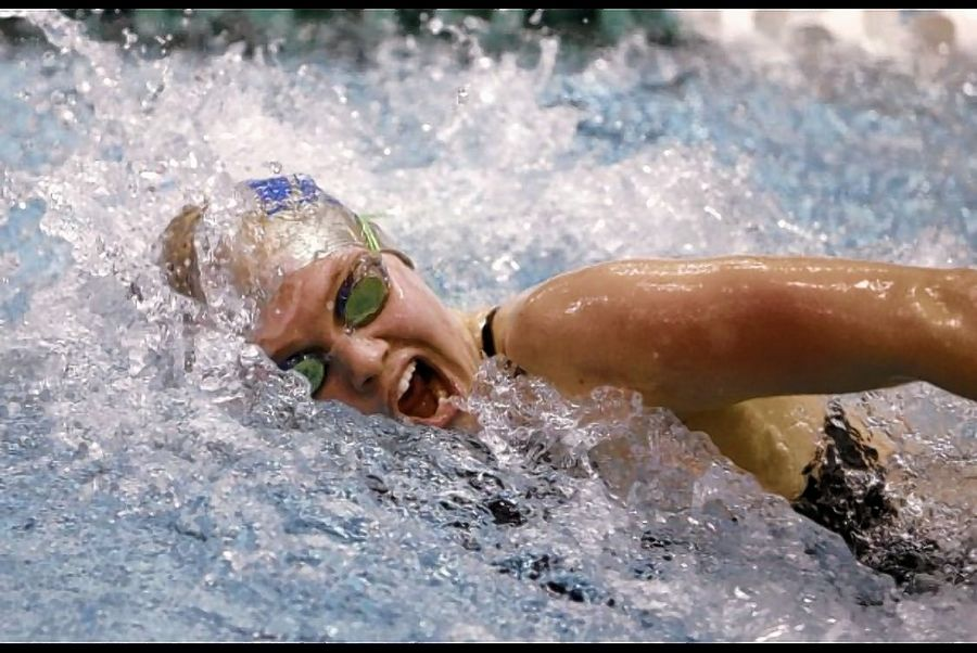 Vernon Hills' Casey Craffey will swim at Northern Arizona next year.