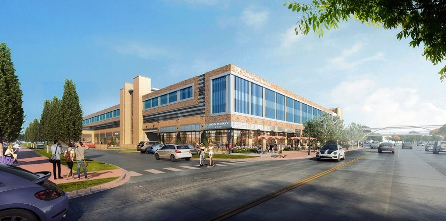 Northwestern Medicine Central DuPage Hospital won approval from Winfield to construct a parking deck west of the hospital along Winfield Road. In the parking structure, ground floor space would be set aside for a day care facility and retail/restaurant use.