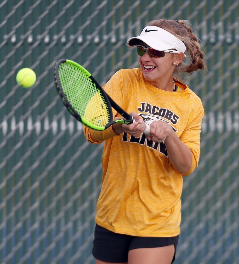 Chloe Siegfort is one of Jacobs' top returning players this season.